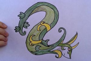 Serperior: My grass starter In BW by ShrimpRapidash123