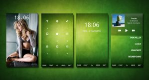 HTC Desire - Green by Dane103