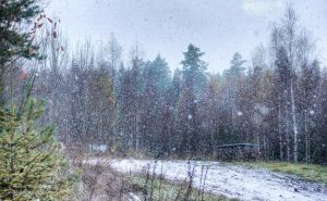 First Snow - Finland - 2013 Winter - Table by hmcindie