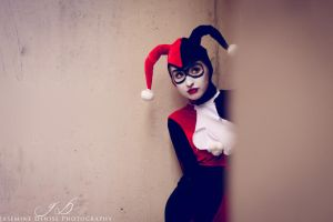 Sneaking up on Harley... by JasemineDenise