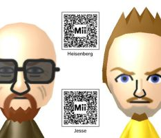 Breaking Bad Miis by Lwiis64