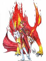 Fire Knight - MKR by Ahr0