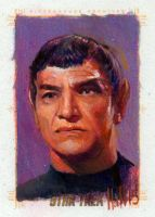 star trek 50th oil sketch 29 by charles-hall