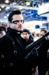 Adam Jensen GameWorld 2014 by TR-maniac