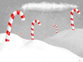 candy canes by Damni2