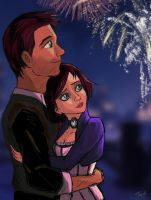 Fireworks by Willowwolf23