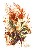 SKULLS 2 KEY HOT... by javierGpacheco