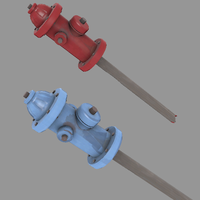 TF2 Community Contribution:  Fire Hydrant by emrfish6