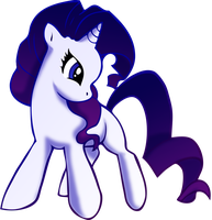 Rarity Filly by LychiCambess