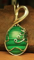 Malachite Pendant by stian-c
