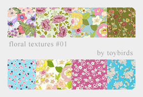 Floral Textures 01 by toybirds