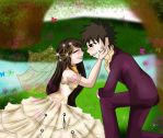Wedding for Kankuro by XX8