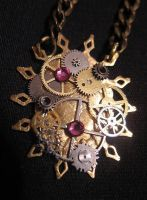 """Watchworks"" pendant by Space-Invader"