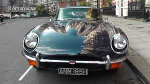 Jaguar E-Type (Series II) by The-Transport-Guild