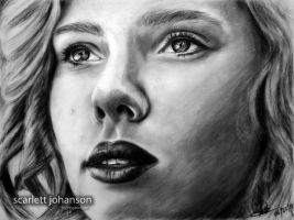 SCARLETT JOHANSSON by rayjaurigue