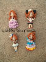 Dolls Polymer Clay by Nakihra