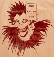 Happy Valentines Day from Ryuk by Tori-W