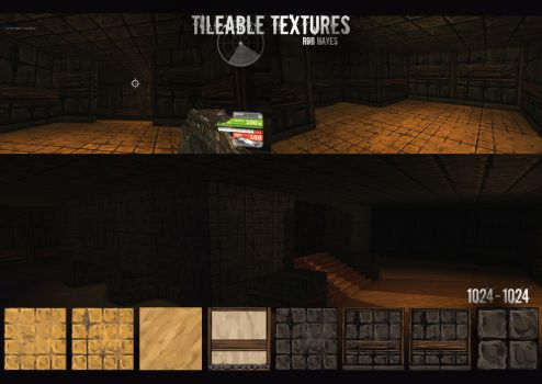 Tileable Textures by RHayes