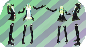 MMD NJXA Outfit 30 by MMD3DCGParts