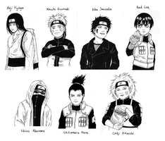 Konoha Boys by Shirvell