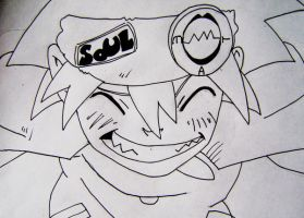 Soul Eater smile by OriginalUniqueSoul