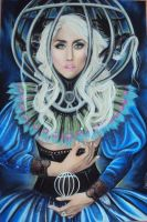lady gaga:Mental cage by carlos0003