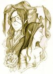 The King and the Girl by morganadulac