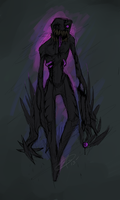 Enderman by Tikiface
