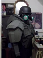 Panzer Cop Armor (cosplay of Jin Roh) by PriamWolf