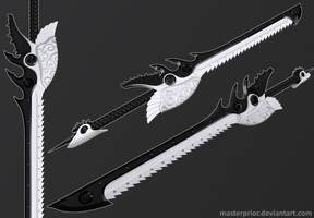 Daynight Sword by MasterPrior