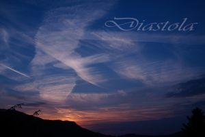 sunset by Diastola