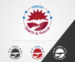 Vernon Search and Rescue Logo by sampdesigns