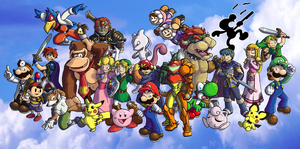 Super Smash Bros. Melee by ChetRippo