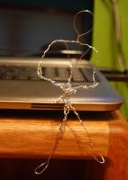 Wire Man WIP by freehugsnow