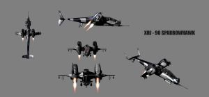 XHJ-90 SparrowHawk by ex-pacifist