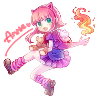 Annie-cyann by MizoreAme