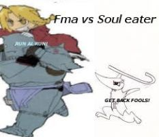 FMA VS SOUL EATER by TheNether