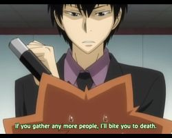 Hibari Kyoya, after 10 years... by Jibari-chan