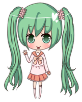 Lots of Laugh - Hatsune Miku by mint-geki