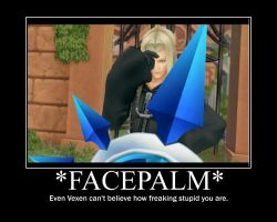 Facepalm'ing Vexen by TheJT-NewsaaProject