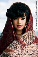Indian Barbie by AmongDreams