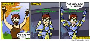 Evolution of a Priest by MMO-Rehab