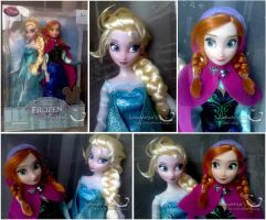 Frozen Girls by kamarza