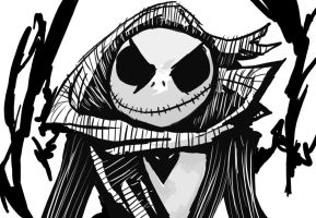 Jack Skellington by AbyssOkami