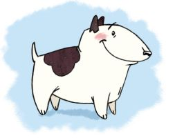 Bull Terrier by UrsusArctos