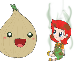 Onion and a Onion by Rotommowtom