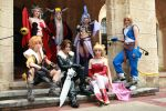 CosPhotography: Dissidia Group by Risachantag