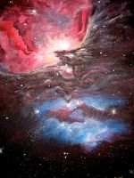 Orion Nebula by esyle