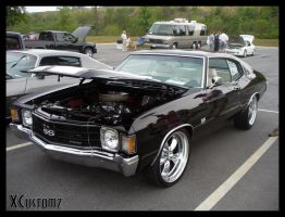 Black Chevelle by xcustomz
