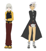 Soul and Maka swapped..not good. by laeity